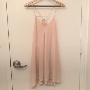 Light Pink Flowy Dress